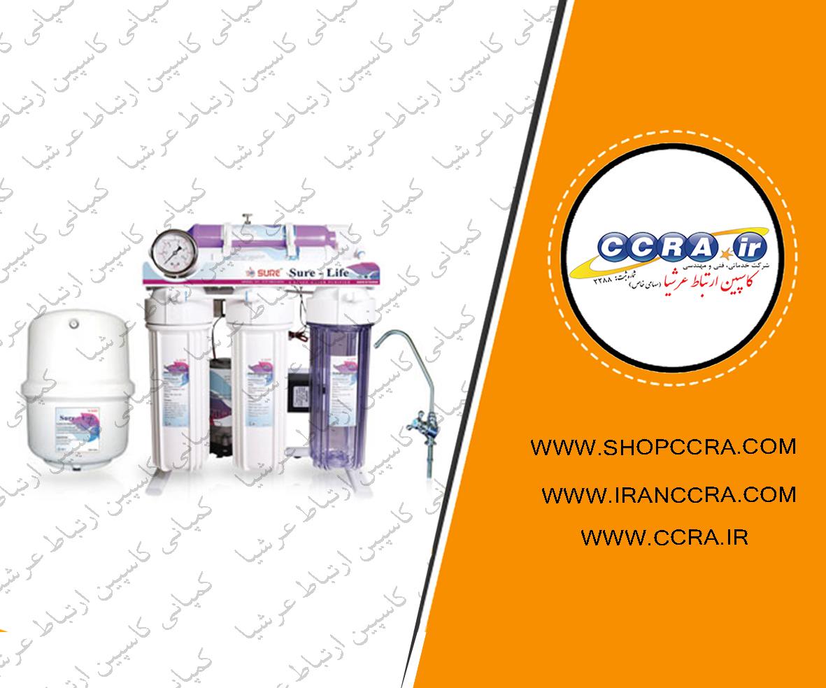 استفاده از دستگاه تصفیه آب خانگی